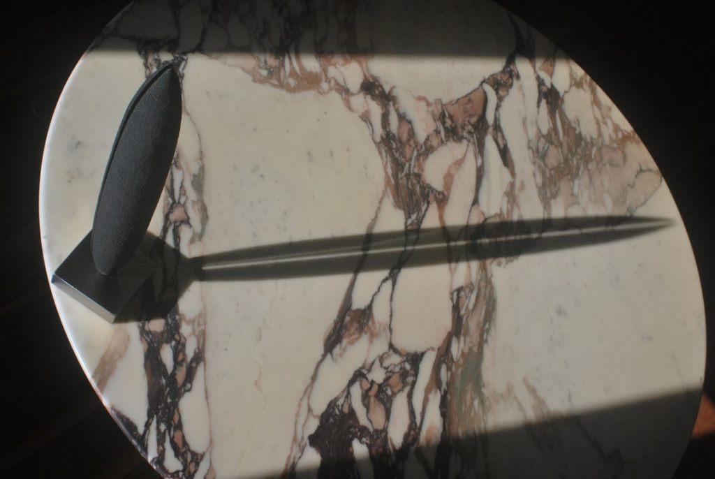 12.Sculpture-fer-limaille-de-fer-acier-inox-poli-miroir-Felix-Valdelievre-42-cm-2019