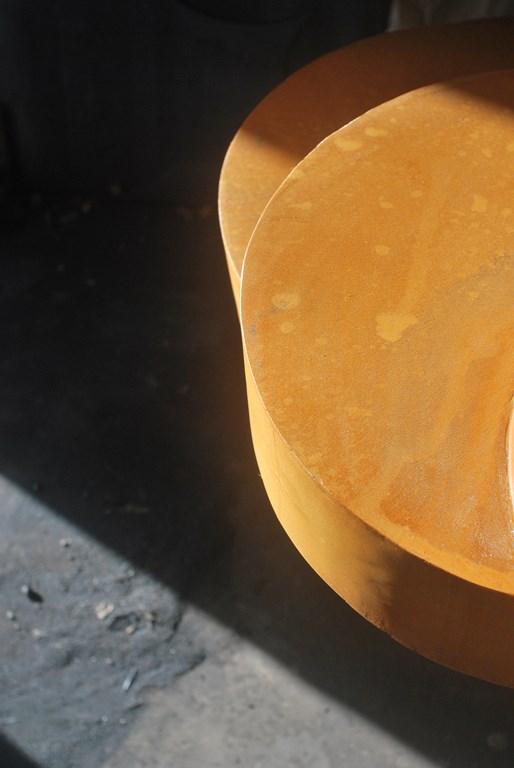 3.Travail-d-oxydation-rouille-sur-une-sculpture-en-acier-corten-realisee-par-l-artiste-sculpteur-contemporain-Felix-Valdelievre-2018
