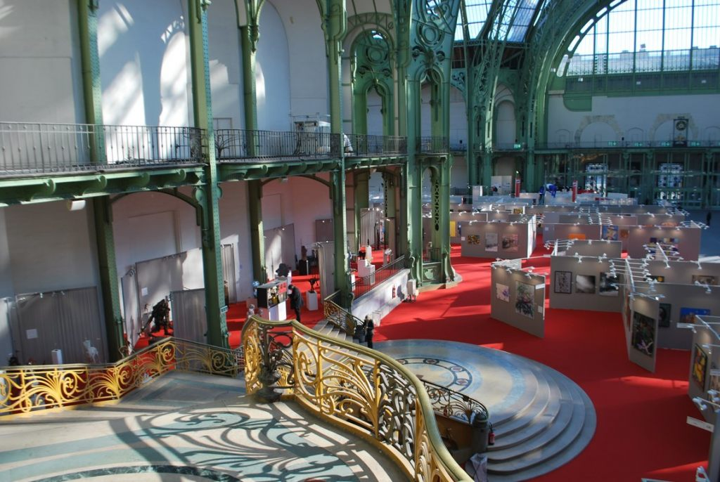 Vue-Salon-Comparaisons-Grand-Palais-Art-Capital-2019