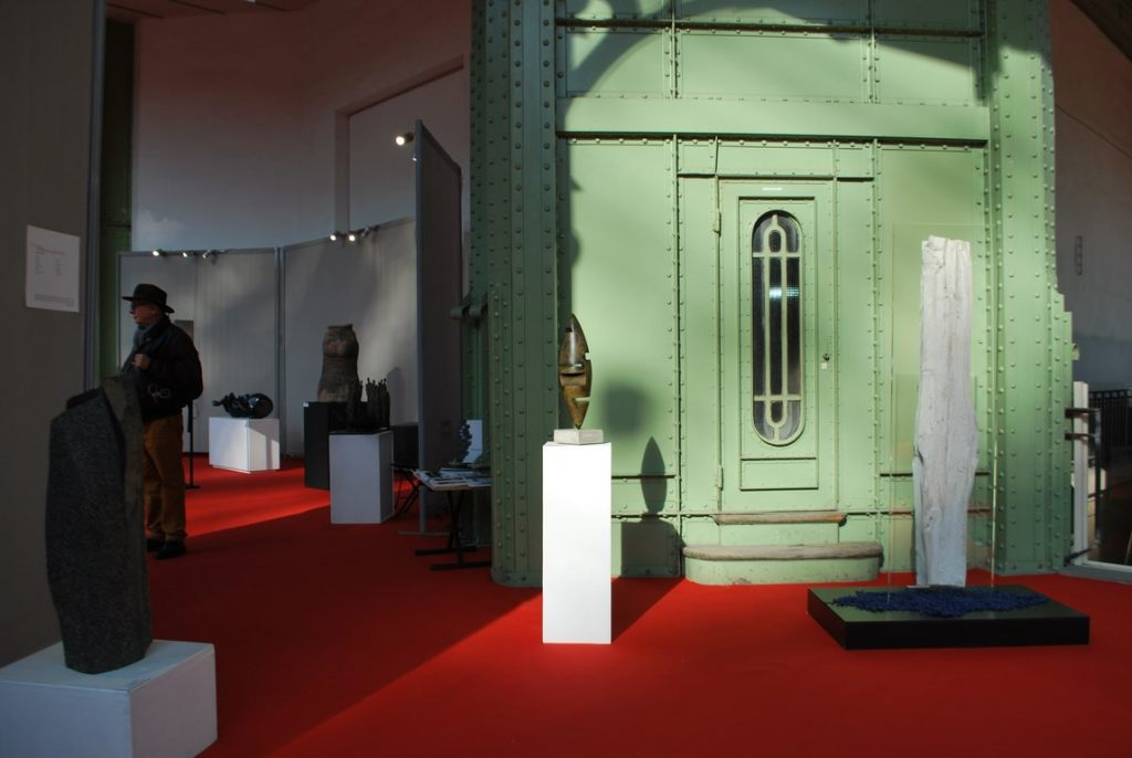 sculpture-fer-patine-verni-Felix-Valdelievre-Coursive-Grand-Palais-Groupe-Sculpture-Plurielle-Salon-Comparaisons-2019