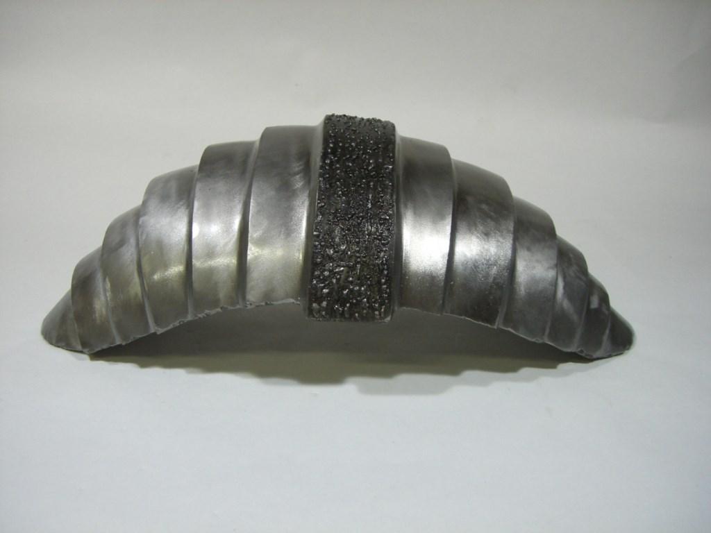 Sculpture-fer-brosse-verni-longueur:35cm-2005