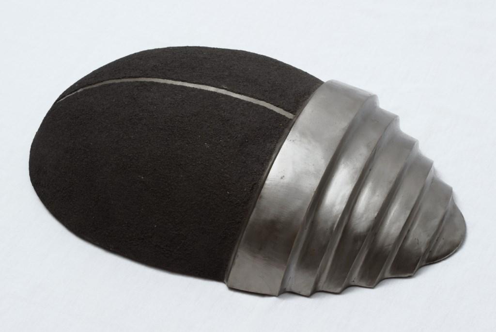 Sculpture-fer-patine-verni-limaille-de-fer-longueur:38cm-20062