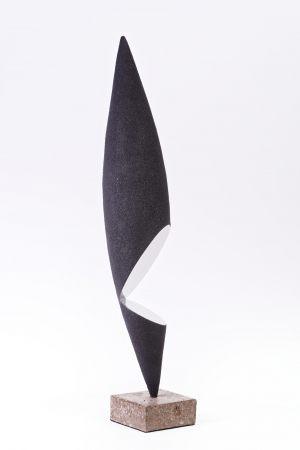 Sculpture-fer-limaille-de-fer-inox-poli-hauteur=62cm-2018-sculpteur-artiste-contemporain-Felix-Valdelievre