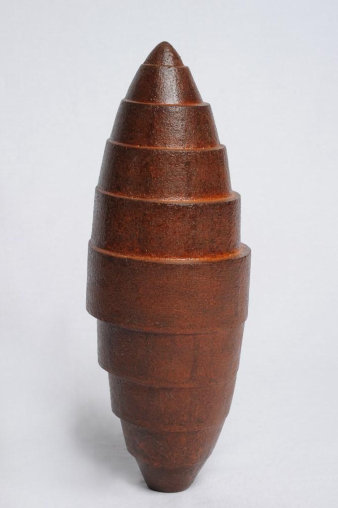 Sculpture-fer-oxyde-verni-hauteur:37cm-artiste-sculpteur-contemporain-Felix-Valdelievre-2011