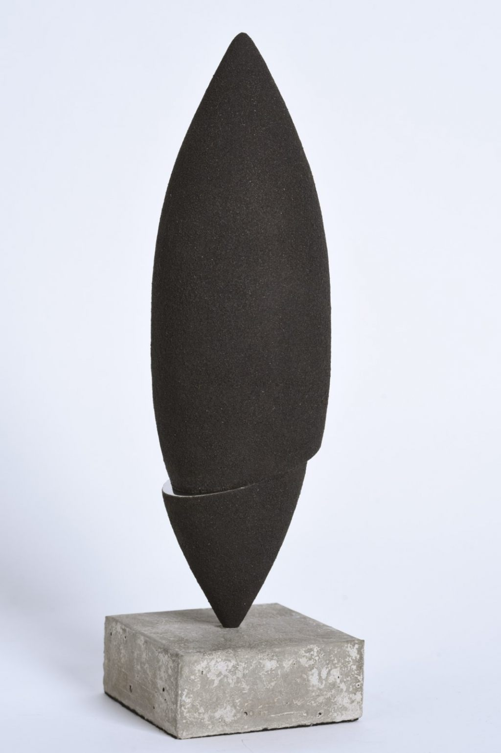 Sculpture-limaille-de-fer-inox-poli-miroir-hauteur:36cm-artiste-sculpteur-contemporain-Felix-Valdelievre-2016